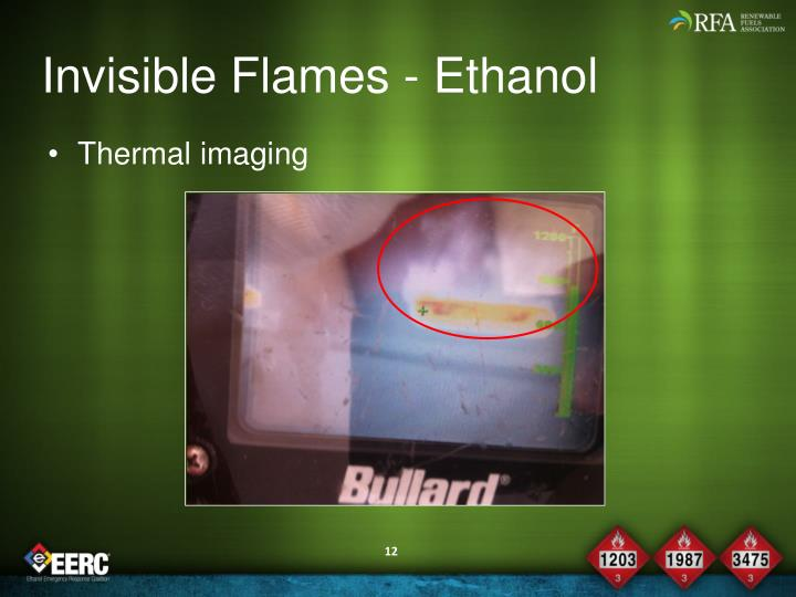 Invisible Flames - Ethanol