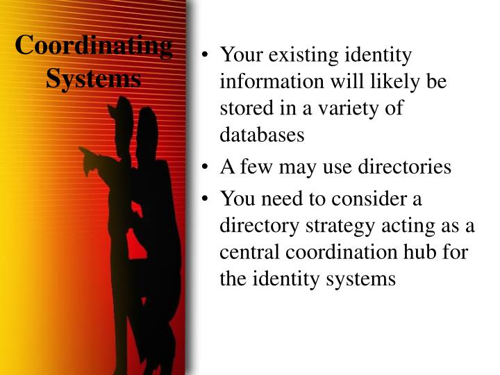 Coordinating Systems