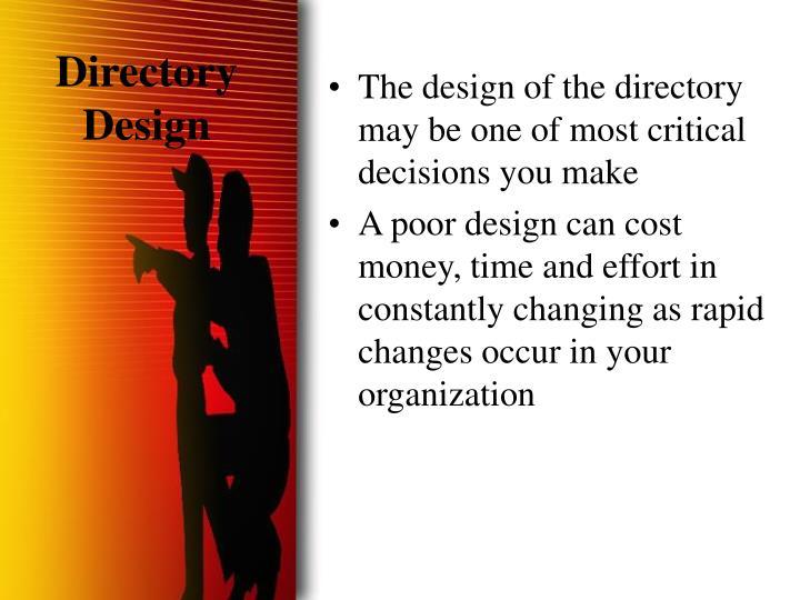 Directory Design