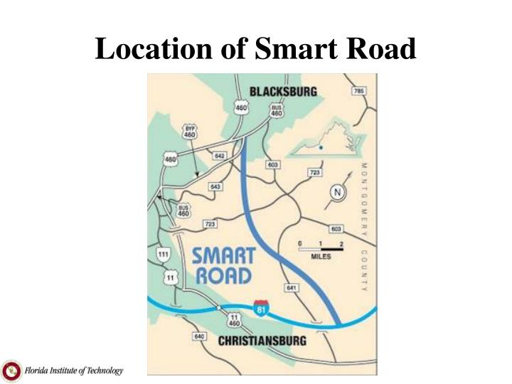 Location of Smart Road