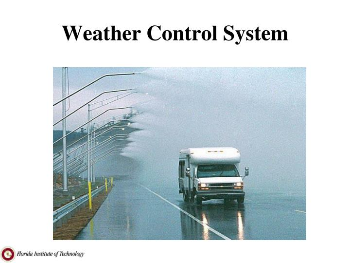 Weather Control System