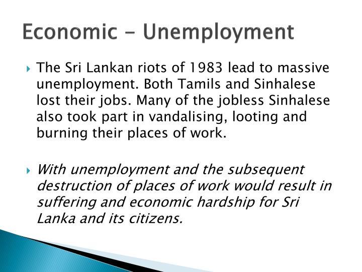 Economic - Unemployment