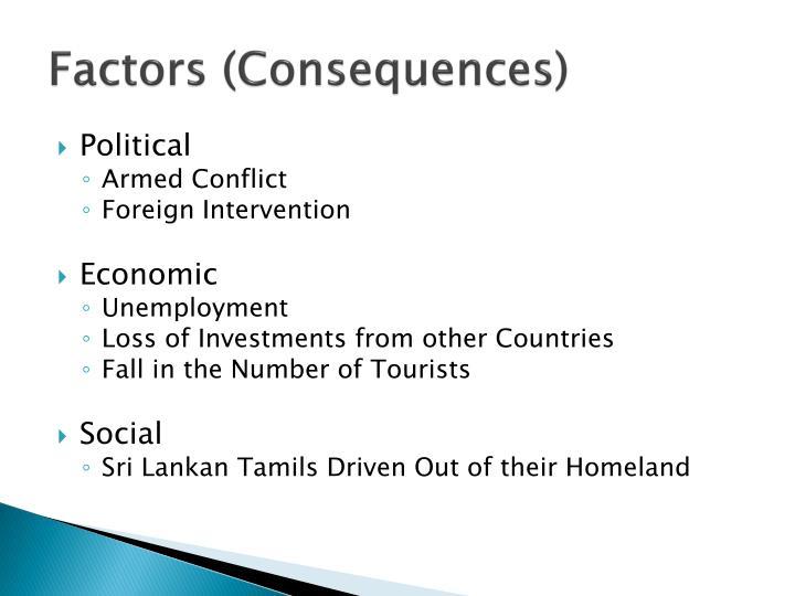 Factors (Consequences)
