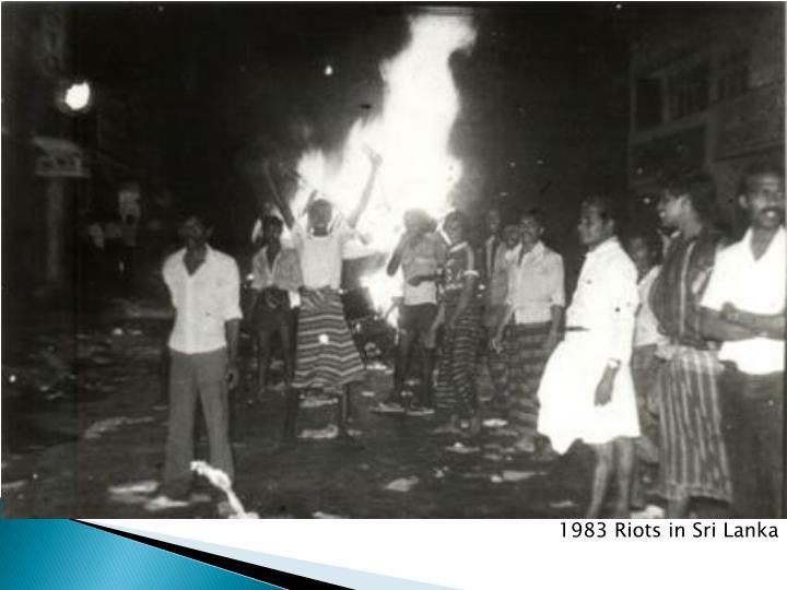 1983 Riots in Sri Lanka