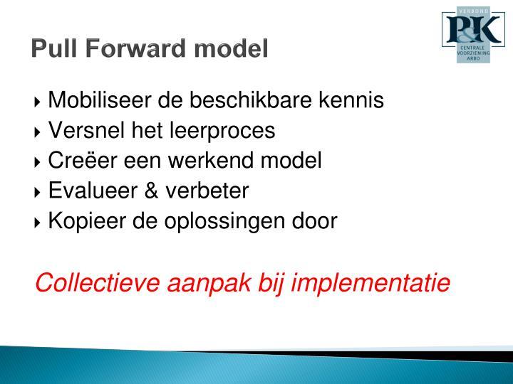 Pull Forward model