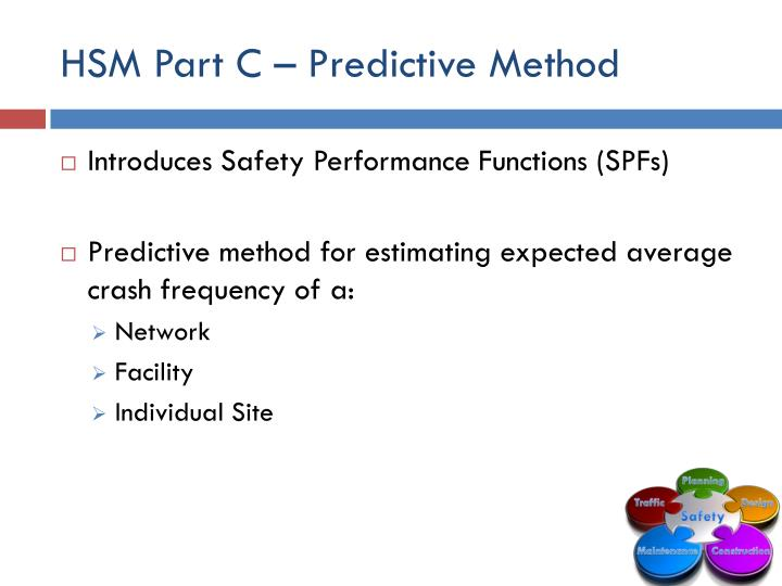 HSM Part C – Predictive Method