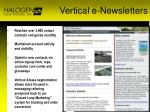 vertical e newsletters