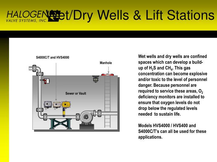Wet/Dry Wells & Lift Stations