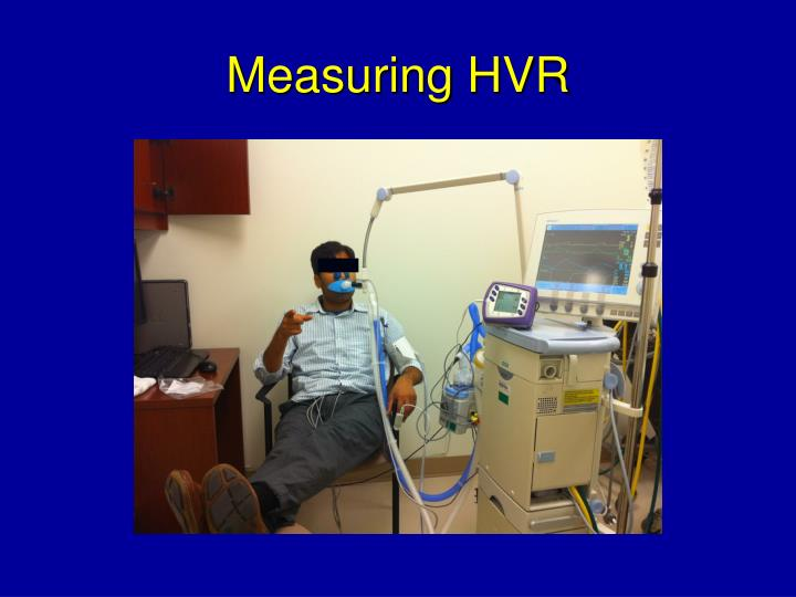 Measuring HVR