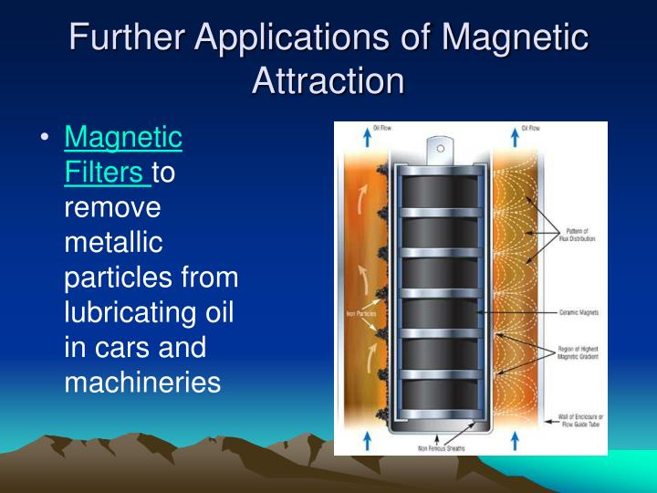 Further Applications of Magnetic Attraction