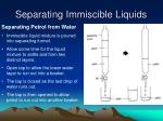 separating immiscible liquids2