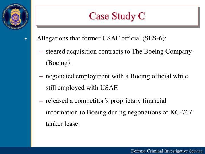 Case Study C