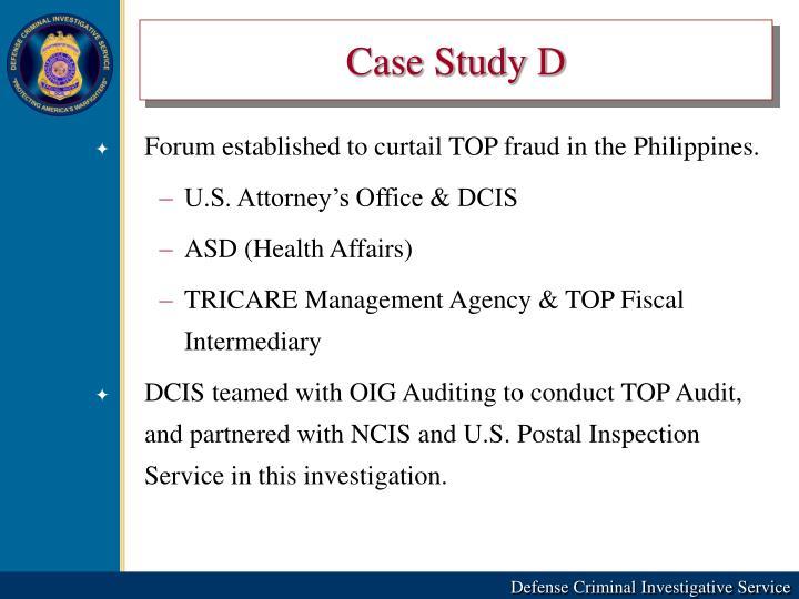 Case Study D