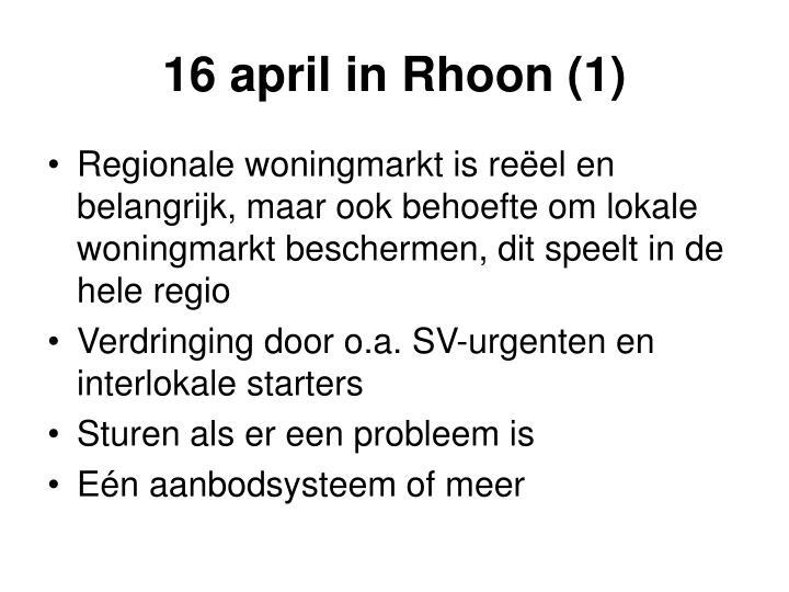 16 april in Rhoon (1)
