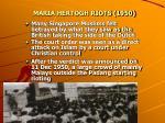 maria hertogh riots 19505