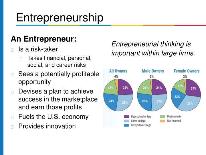 An Entrepreneur: