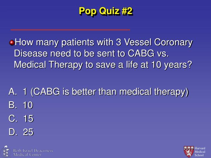 Pop Quiz #2