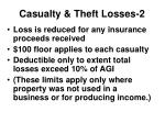 casualty theft losses 2