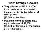 health savings accounts1