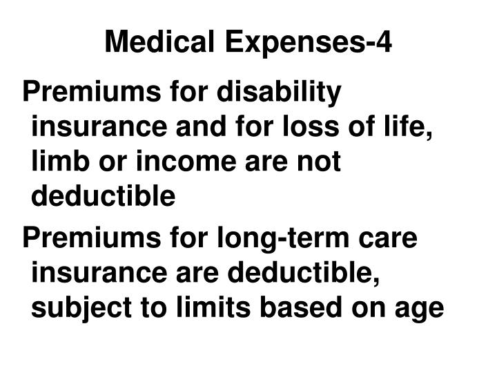 Medical Expenses-4