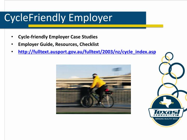 CycleFriendly Employer