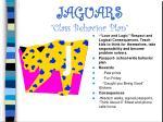 jaguars class behavior plan