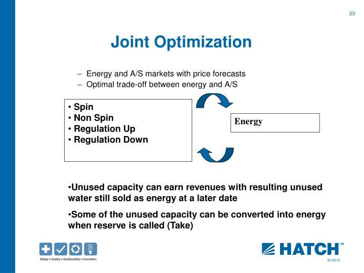 Joint Optimization