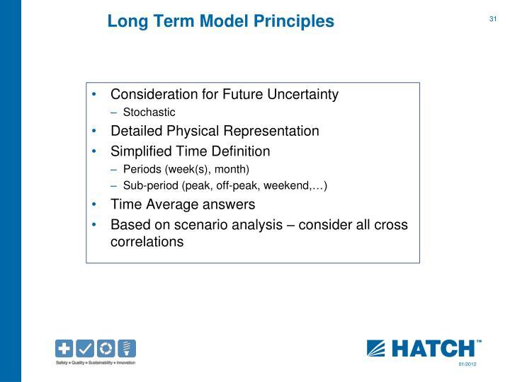 Long Term Model