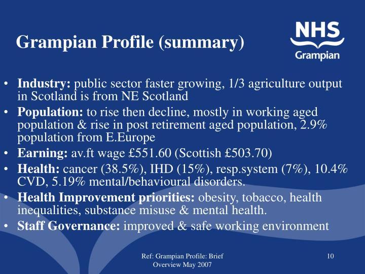 Grampian Profile (summary)