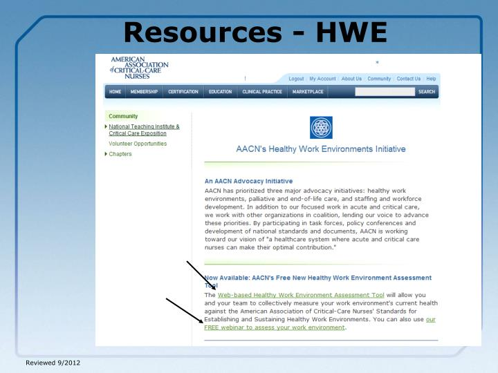 Resources - HWE
