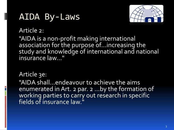 AIDA By-Laws