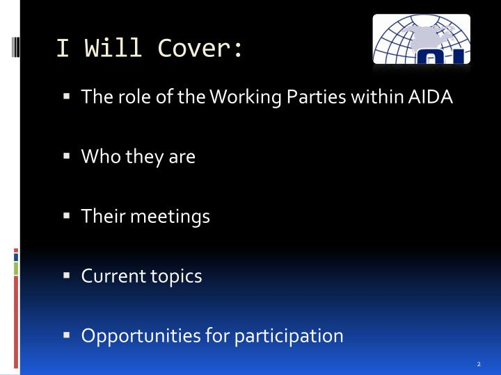 I Will Cover: