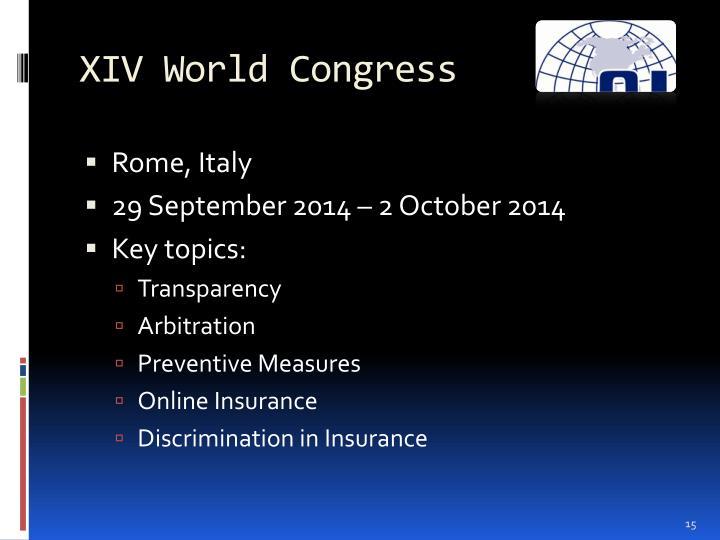 XIV World Congress