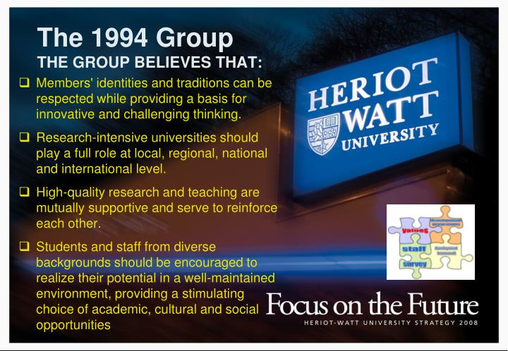 The 1994 group the group believes that