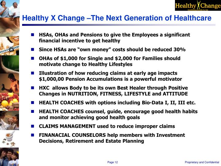 Healthy X Change –The Next Generation of Healthcare