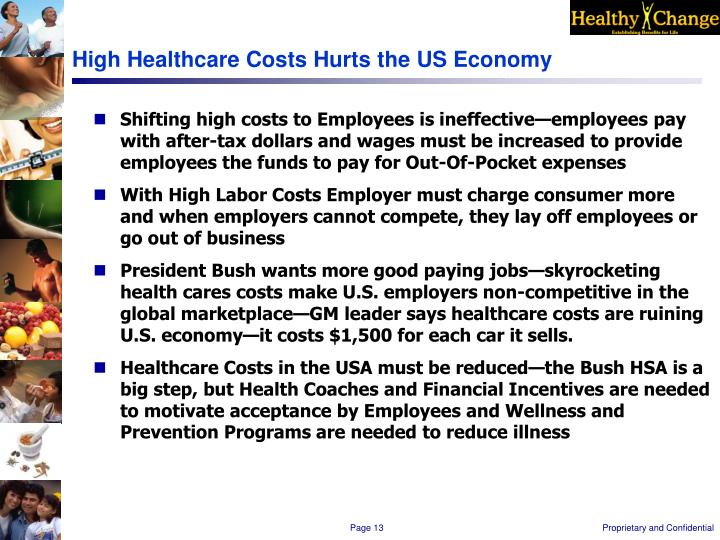 High Healthcare Costs Hurts the US Economy