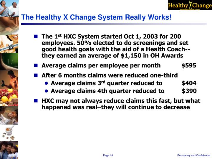The Healthy X Change System Really Works!