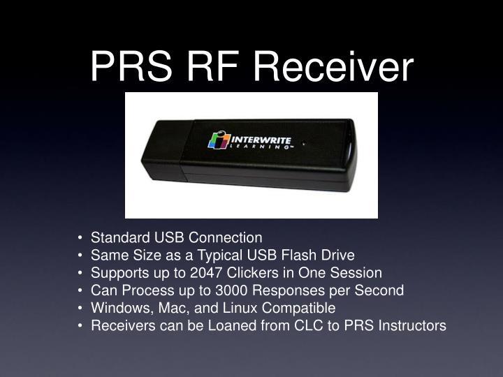 PRS RF Receiver