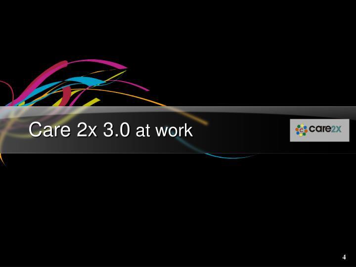 Care 2x 3.0