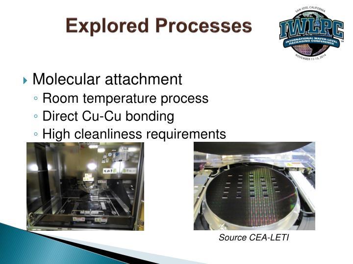 Explored Processes