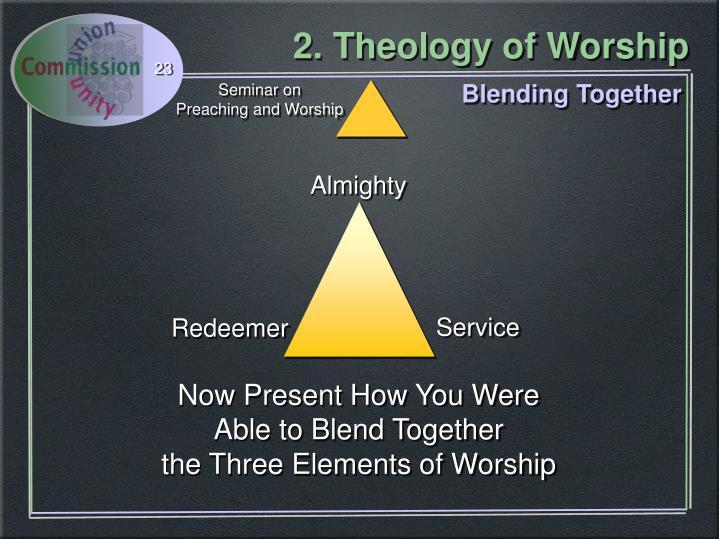 Blending Together