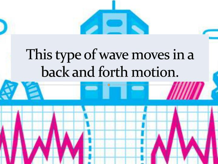 This type of wave moves in a back and forth motion.