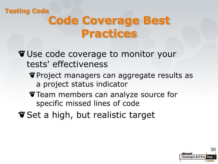 Code Coverage B