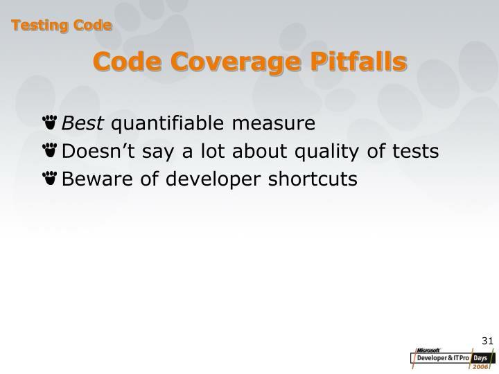 Code Coverage P