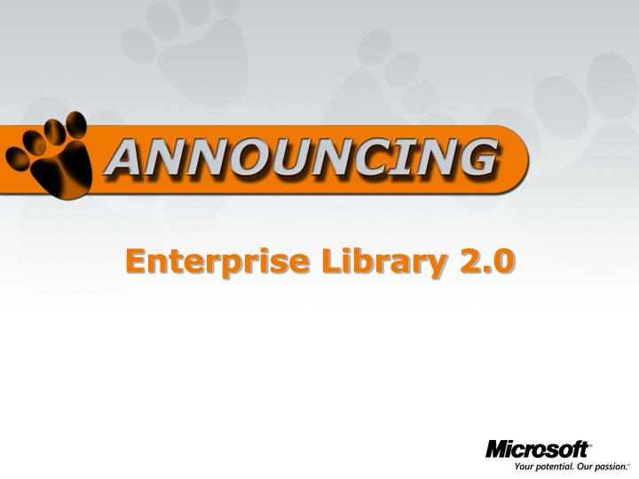 Enterprise Library 2.0