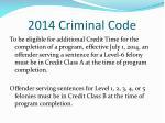 2014 criminal code