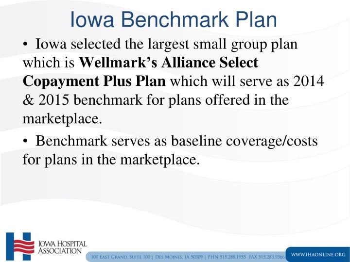 Iowa Benchmark Plan