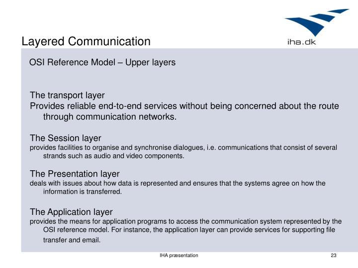 Layered Communication