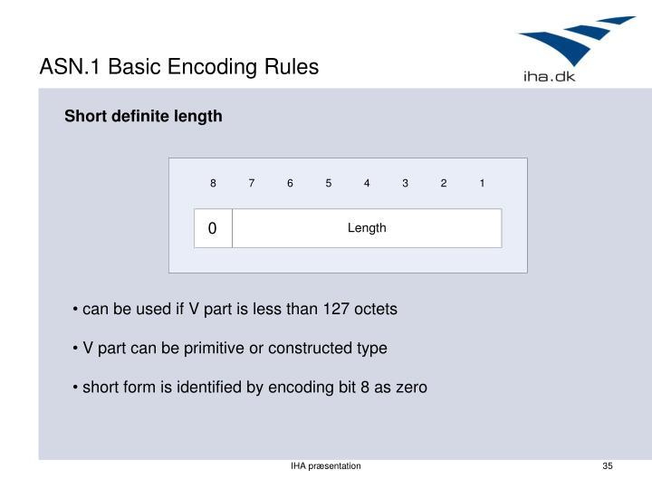 ASN.1 Basic Encoding Rules