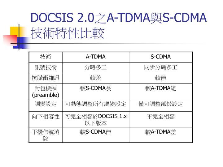 DOCSIS 2.0